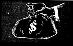 Clipart - Cash Dollars Icon