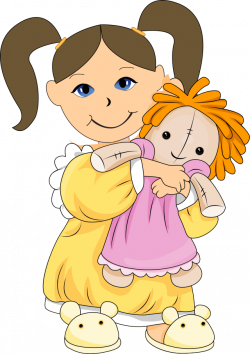 dolls clip art | Playing With Dolls Clip Art Images & Pictures ...