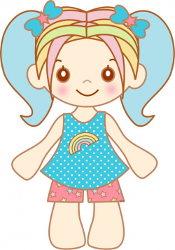 The 62 best Dolls images on Pinterest | Girl clipart, Clip art and ...
