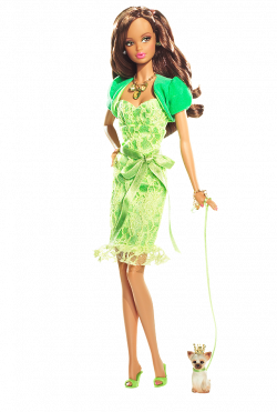 Miss Peridot™ Barbie® Doll | Barbie Collector | Birthstone Beauties ...
