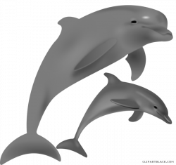 Bottlenose Dolphin Clipart - ClipartBlack.com