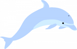 Blue Grey Dolphin | Free Images at Clker.com - vector clip ...