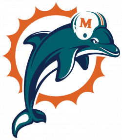 28+ Collection of Miami Dolphins Clipart Free | High quality, free ...