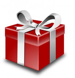 Clipart present wrapped present - Graphics - Illustrations - Free ...