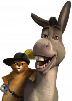 Shrek donkey clipart - crazywidow.info