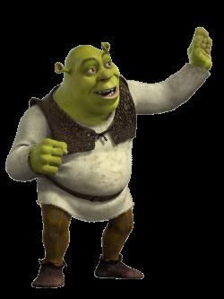 Shrek Waving transparent PNG - StickPNG