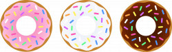 28+ Collection of Donut Clipart Images | High quality, free cliparts ...