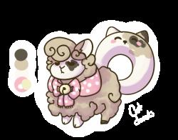 Cat Donuts Flufferbun *CLOSED* by TwoPhoenixAdopts on DeviantArt