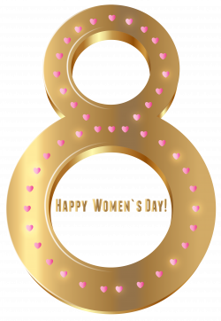 Women's Day Gold Transparent PNG Clip Art Image | Gallery ...