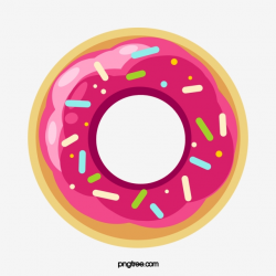 Red Donut, Donut Clipart, Cake, Donuts PNG Transparent ...
