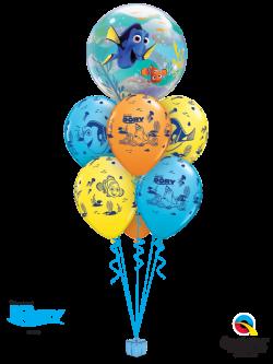 Finding Dory Balloon Bouquet - Wham Bam Balloon
