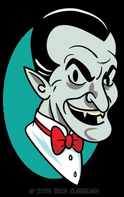 Halloween Monster Face 2 – Vampire - The Graveyard Gang