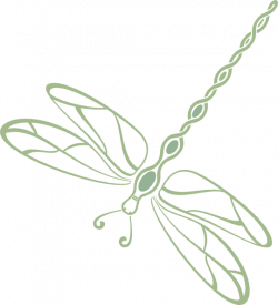 Filled Green Dragonfly Clip Art at Clker.com - vector clip art ...