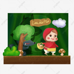 Theatre Festival West Puppet Theater Little Red Riding Hood ...