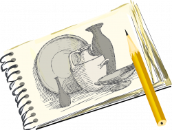 Drawing clipart sketch ~ Frames ~ Illustrations ~ HD images ~ Photo ...