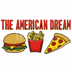 THE AMERICAN DREAM (BURGER, FRIES, & PIZZA) | The Wild Side