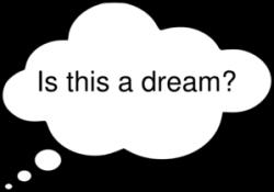 Is This A Dream Clip Art at Clker.com - vector clip art online ...