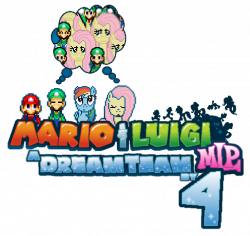 Mario and Luigi MLP A Dream Team by 4 logo by IceLucario20xx on ...