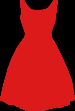 Dress Red Clipart transparent PNG - StickPNG
