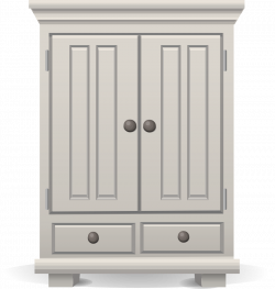 OnlineLabels Clip Art - Tall White Cabinet From Glitch