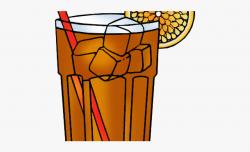 Drinks Clipart Iced Drink - Ice Tea Clip Art, Cliparts ...