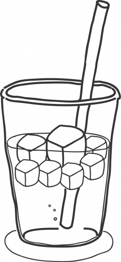 Clipart - Drink with ice