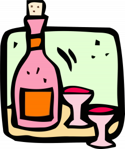 Clipart - Food and drink icon - wine