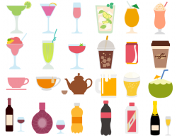 Best Vector Drink and Beverage Clipart - Free Download
