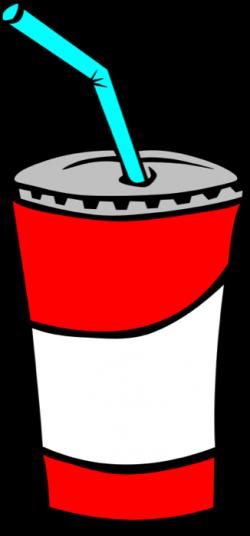 Clipart of Drinks - Soda Pop, Lemonade, Juice and Cocoa