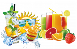 Juice Fruit Red Drink - Free to pull the summer drinks decorative ...