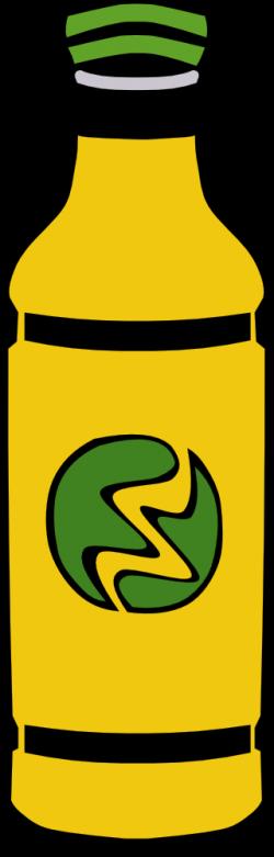 OnlineLabels Clip Art - Fast Food, Drinks, Bottle, Yellow