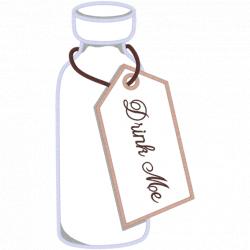 Drink me bottle clip art clipart