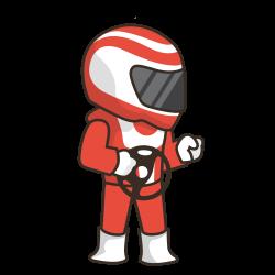 Cartoon Race Car Driver Image Group (56+)