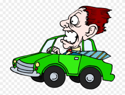 Scary Clipart Driver - Driving - Png Download (#1008356 ...