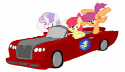 213285 - apple bloom, artist:hyperwave9000, car, cutie mark ...