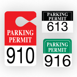 Parking Permits | Pro-Tuff Decals