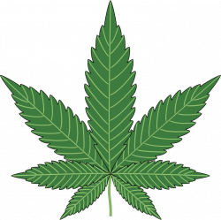 Marijuana Leaf Clip Art & Look At Marijuana Leaf Clip Art Clip Art ...
