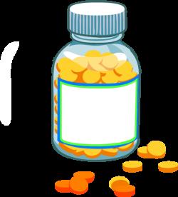 Blank Pill Bottle Clip Art at Clker.com - vector clip art online ...
