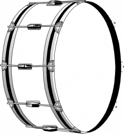 Bass Drums Snare Drums Clip art - drum 555*601 transprent Png Free ...