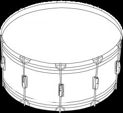 Drum Clip Art at Clker.com - vector clip art online, royalty free ...