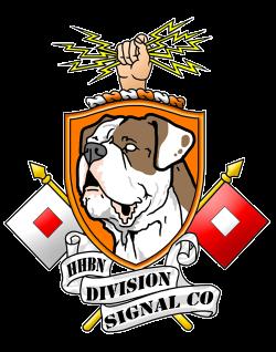 Logo design more last company in the Army, Division Signal Company ...