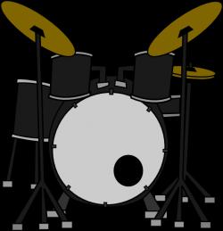 Drum Set Clip Art at Clker.com - vector clip art online, royalty ...