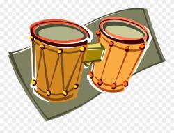 Image Black And White Stock Bongo Drums Clipart - Bongo ...