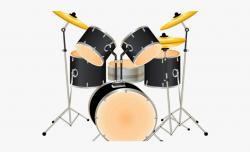 Drum Clipart Music Drum - Que Son Instrumentos De Percusión ...