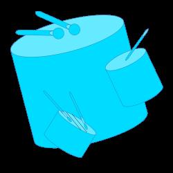 File:Samba-drums-blue.svg - Wikimedia Commons