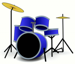 Drum Clipart and Graphics - Percussion and Drums