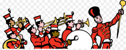 Drum And Bugle Corps Cartoon png download - 1920*749 - Free ...