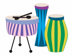 Drums - Png Clipart Music Instruments Png, Transparent Png ...