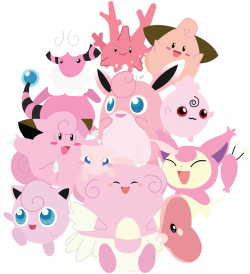 Pink Pokemon Unite! by *Berri-Blossom | video game heart | Pinterest ...