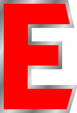 Uppercase E Clip Art at Clker.com - vector clip art online, royalty ...